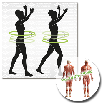 Schildkröt Fitness, Fitness-Hoop Piktigram