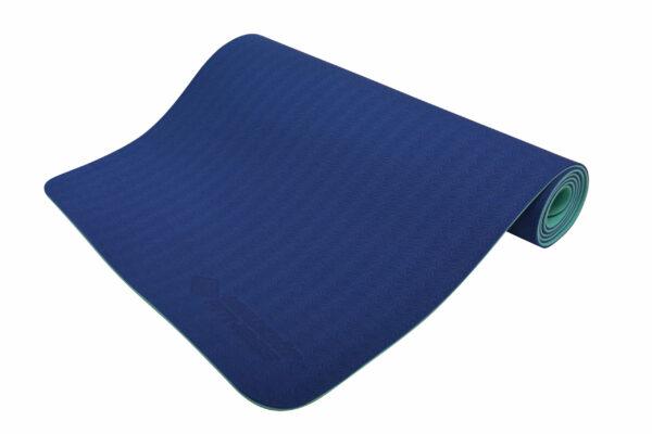 Schildkröt Fitness Yogamatte navy-mint