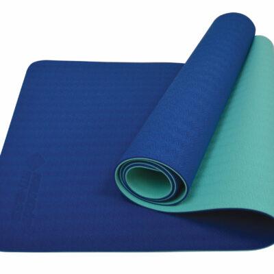 SK Fitness Yogamatte navy-mint