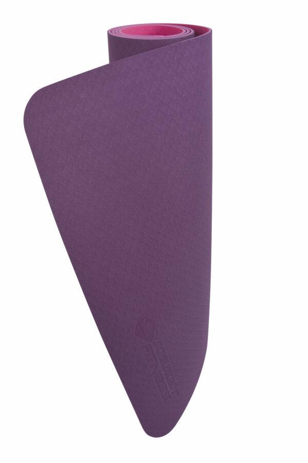 Schildkröt Fitness Yogamatte Bicolor 4mm purple-pink