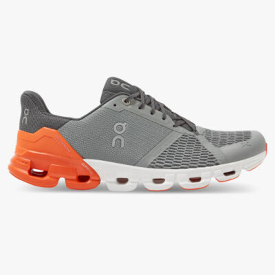 On Cloudflyer Herren Grey | Orange
